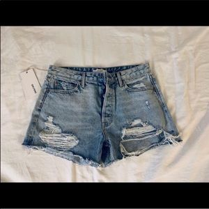 Grlfrnd Denim Helena shorts